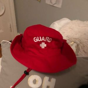 cab341eb4daae Accessories - red lifeguard bucket hat